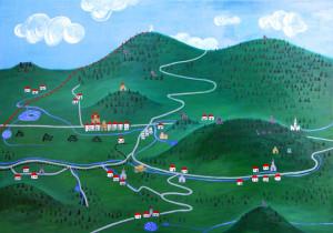 Tajná mapa Zlatohorska