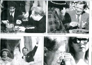 Václav s kamarády-Frantou, Henrym, Bětkou a Dášou