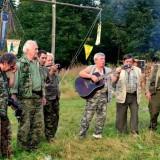 Zpěv trampských písní se linul údolím