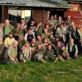 53. výroční oheň T.O. KMM a skupina věčně mladých rebelů