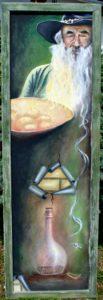 Obraz Zlatokopa Henryho namaloval Martin Matela